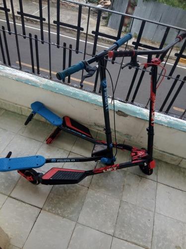 patineta (scooter) y fliker lift & y fliker a3 air