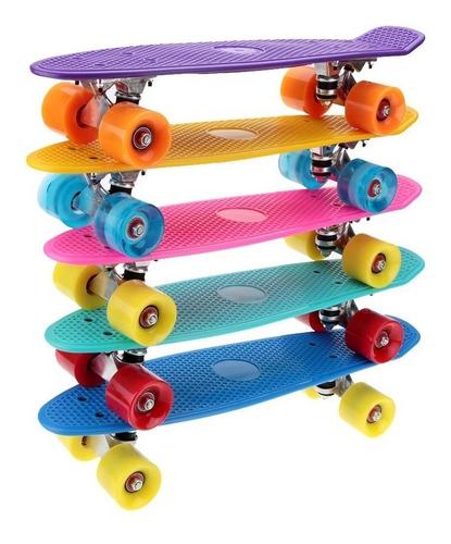 patineta tabla tipo penny personalizada 57 cm tú la combinas