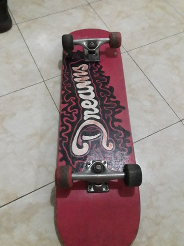 patineta tipo skate board semiprofesional