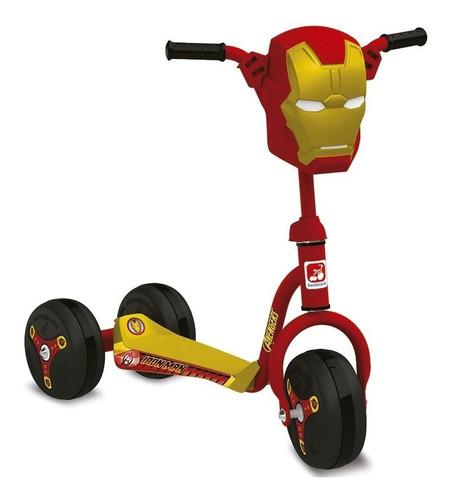 patinete brinquedo para menino homem de ferro 3007