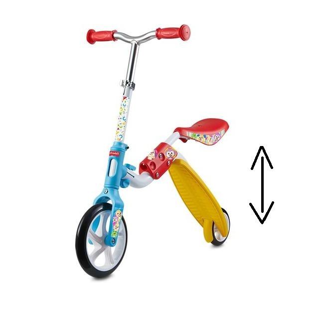 4b13b1bce Patinete E Bicicleta P  Equilibrio 2 Em 1 Fisherprice- Es164 - R ...