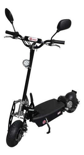 patinete elétrico 1000w dobrável com farol e-scooter bz top