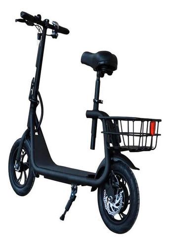 patinete elétrico atrio com banco city com cesta 350w 12 pol