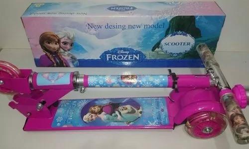 patinete infantil frozen 3 rodas mod 2019 pronta entrega