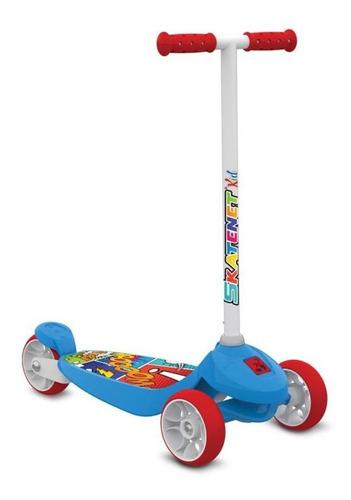 patinete infantil skatenet kid altura regulável 80 kg