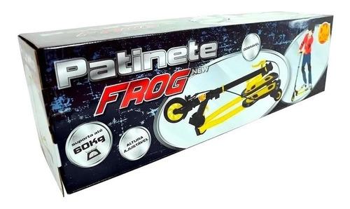 patinete radical frog 3 rodas dobrável altura regulavel