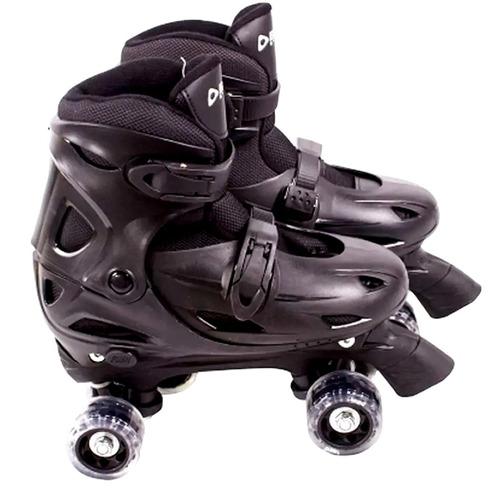 patins 36, 37, 38, 39 clássico roller 4 rodas bel fix 368600