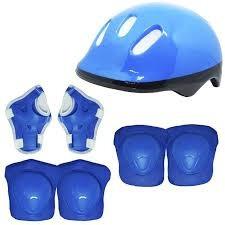 patins 4 rodas  infantil 2 cores + kit proteção inmetro