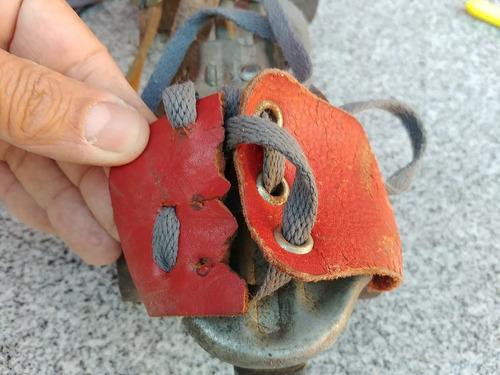patins antiguidade ferro regulável decoração coleção raridad