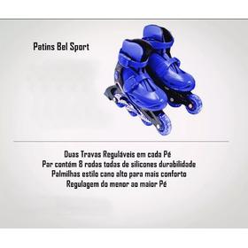 Patins Bel Sport, Cor Azul