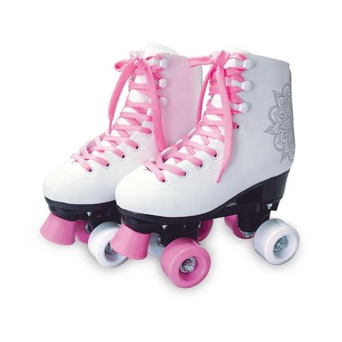 patins classico roller 4 rodas tamanho 40 - dm radical