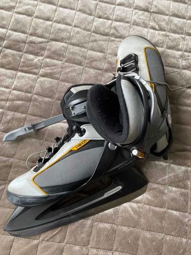 patins de gelo unissex pouco uso alemão número 39
