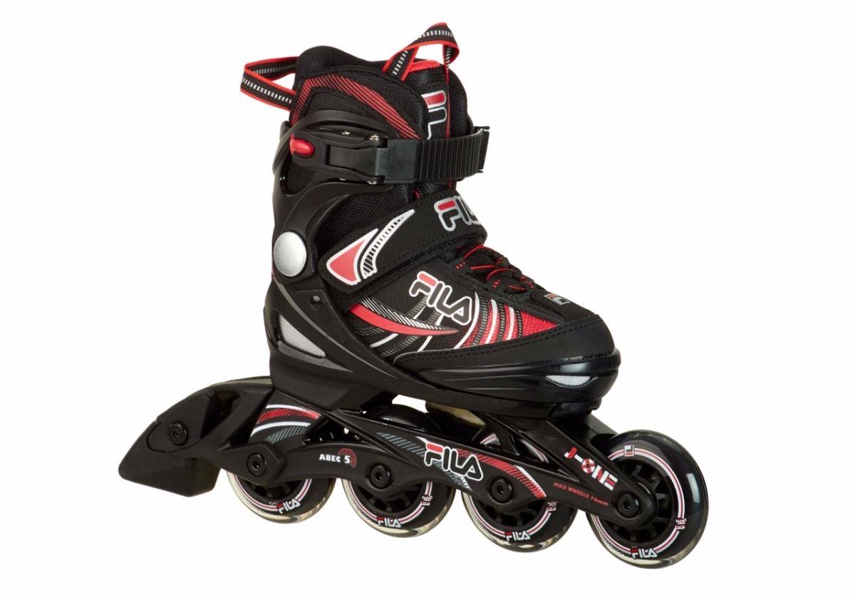 0fa4378a9c9 patins infantil fila j one boy - ajustável. Carregando zoom.