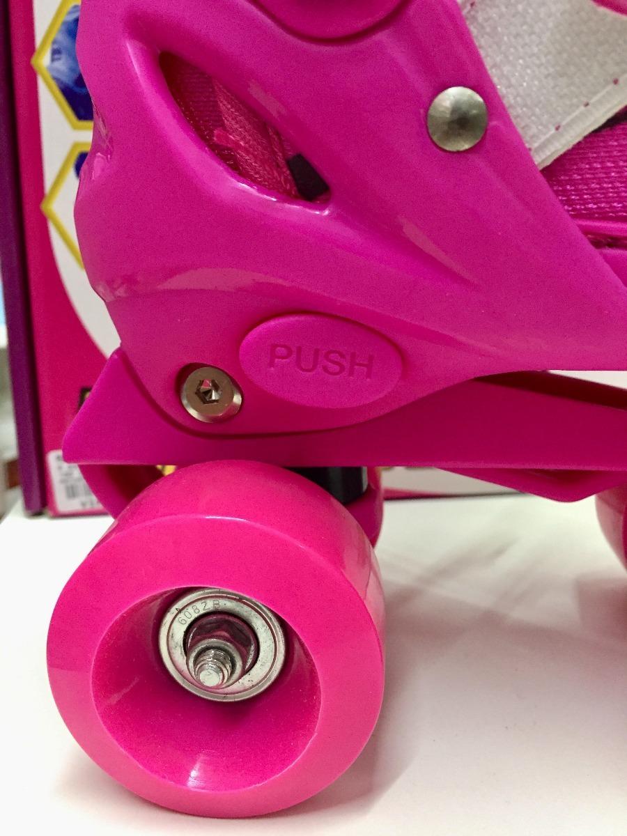 87d502dae67 patins infantil meninas ajustável rolamento 31 34 roller. Carregando zoom.