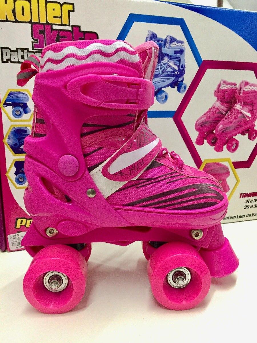 226b36d121f patins infantil meninas ajustável rolamento 31 34 roller sk8. Carregando  zoom.