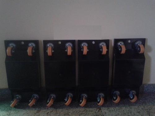 patins para reboque rodas giratórias 3