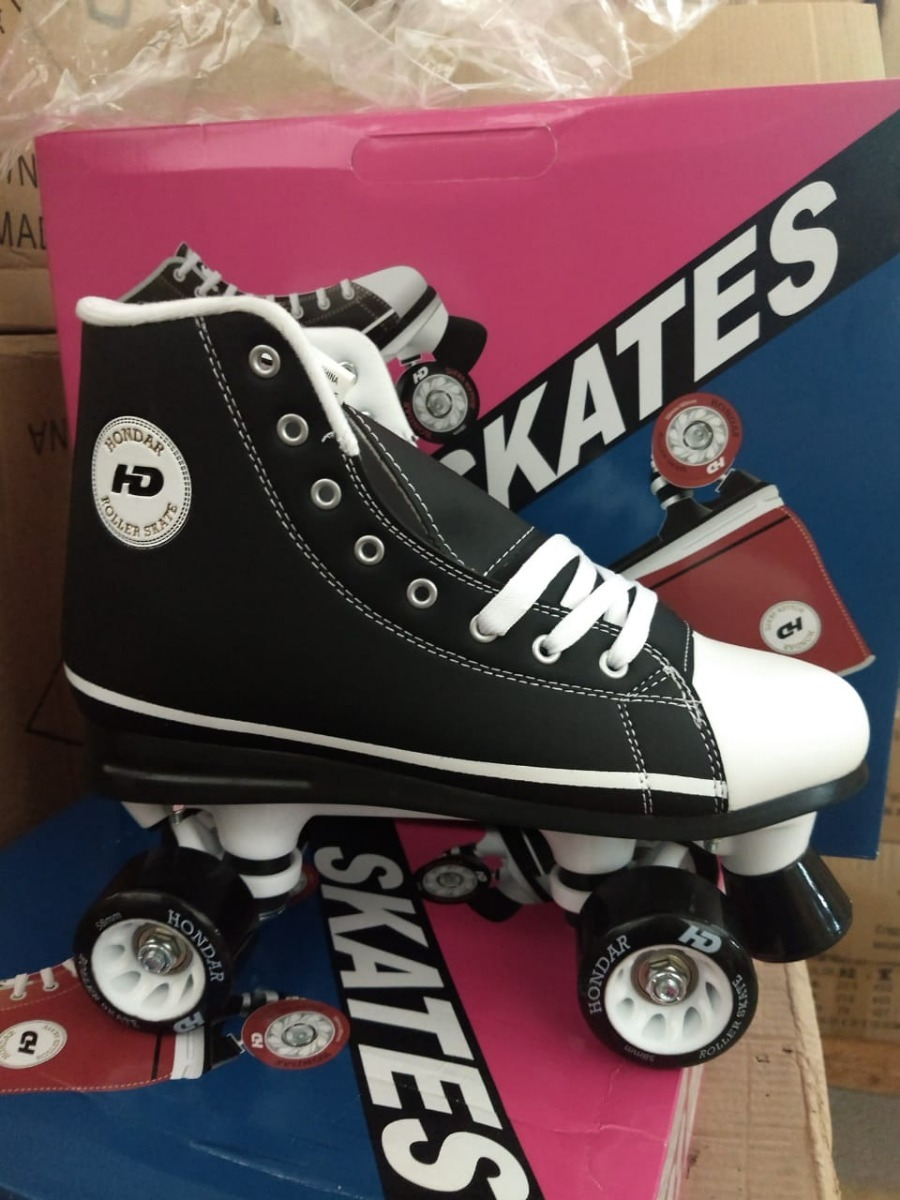 98f046c46 patins quad all star hondar hd - preto - roller derby. Carregando zoom.