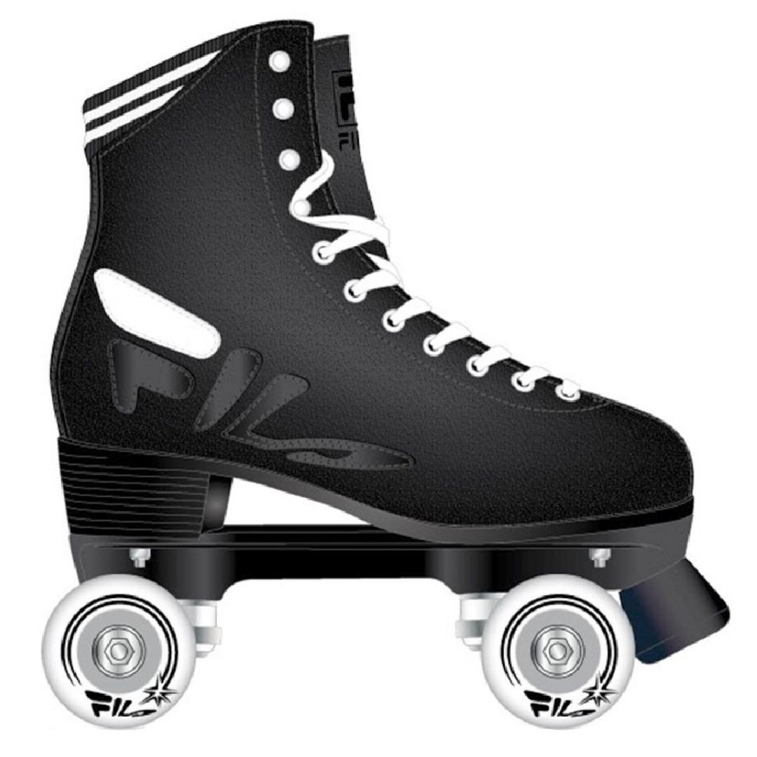 b9435aa910c patins quad fila logo black mindblower - preto camurça. Carregando zoom.