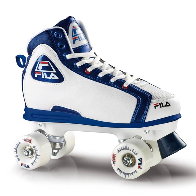 9fdd3fa42e3 Patins Quad Fila Skates Smash Branco/azul - R$ 399,00 em Mercado Livre