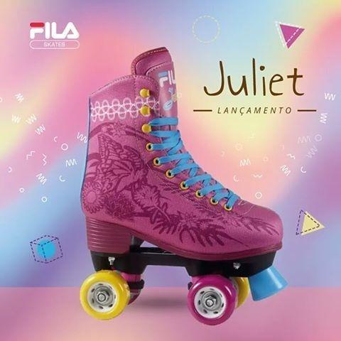 57572a225 Patins Quad Infantil Fila Juliet - R  360
