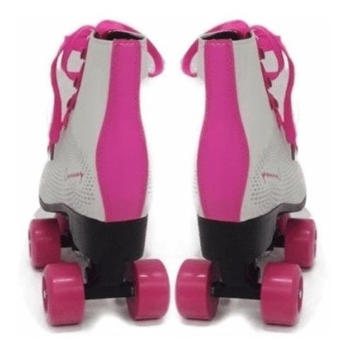 patins roller 4 rodas classico tradicional infantil e adulto