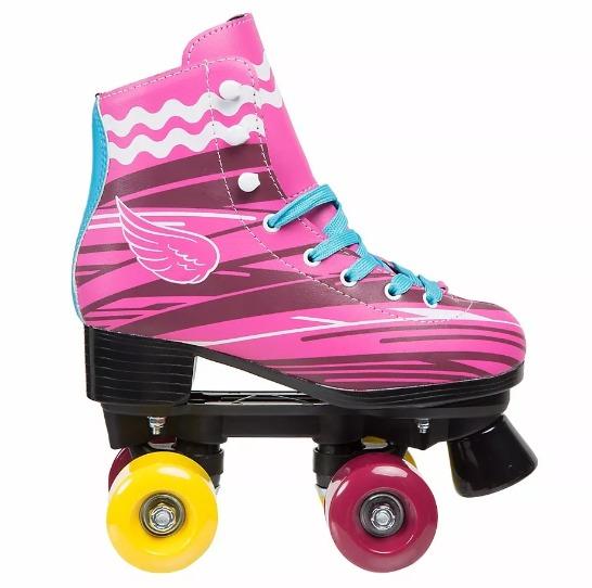patins soy luna tamanho 36 roller 4 rodas skate menina r. Black Bedroom Furniture Sets. Home Design Ideas