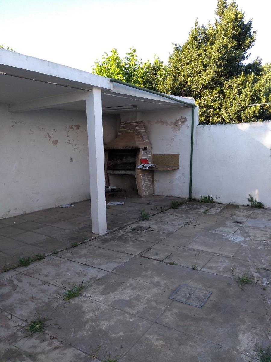 patio delantero y trasero - parrilla
