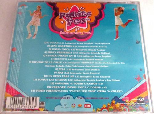 patito feo - la vida es una fiesta nuevo cd