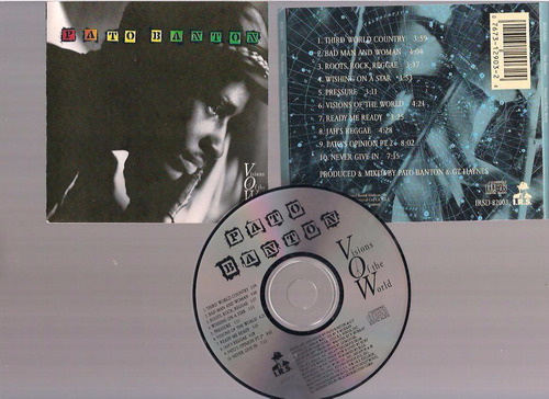 pato banton - visions of the world -  cd - by maceo