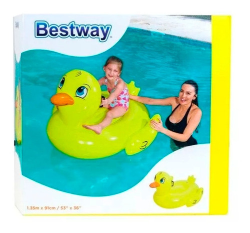 pato chico inflable flotador pileta bestway 41102 full