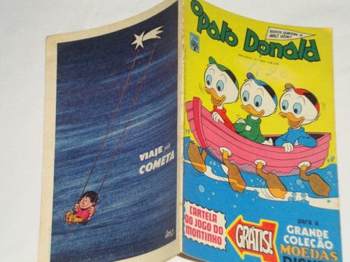 pato donald 1354* 1977- a grande corrida de tartarugas banca