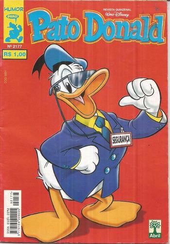 pato donald n. 2177 - editora abril - novembro 1999