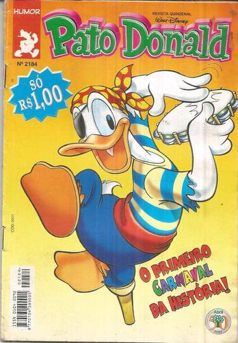 pato donald n. 2184 - editora abril - março 2000