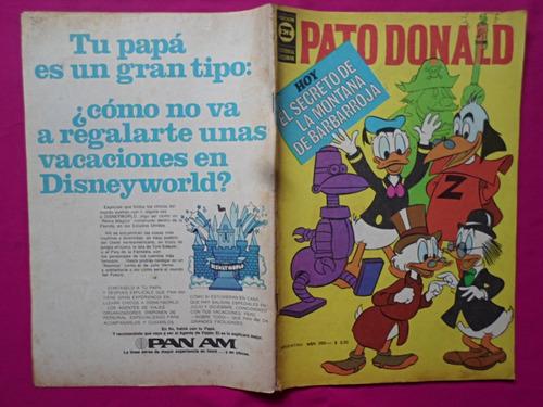 pato donald n° 30  año 1962 editorial tucuman
