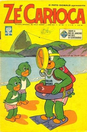 pato donald/zecarioca-anos 1965/1966 -2 exemplares r$ 35,00
