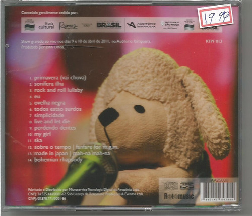 pato fú - musica de brinquedo ao vivo