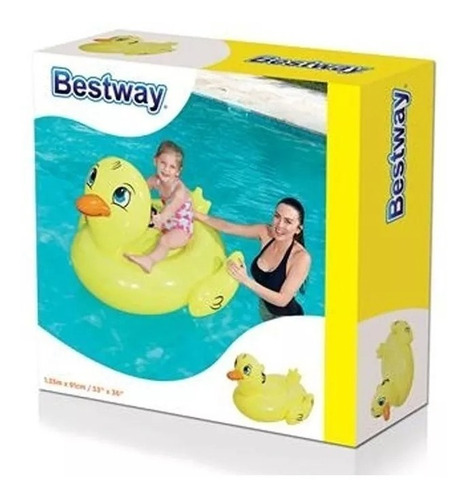 pato inflable 135 x 91 cm bestway 41102 chico educando
