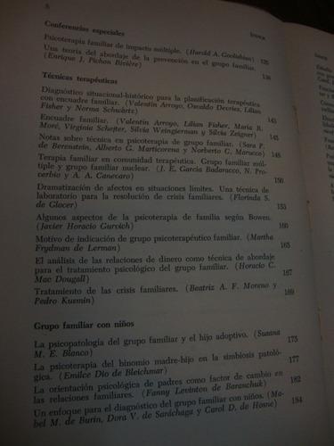 patologia y terapeutica del grupo familiar. sluzki, carlos e