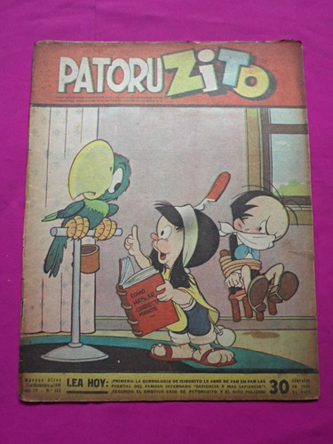 patoruzito n° 168 año 1948 -  semanario de historietas