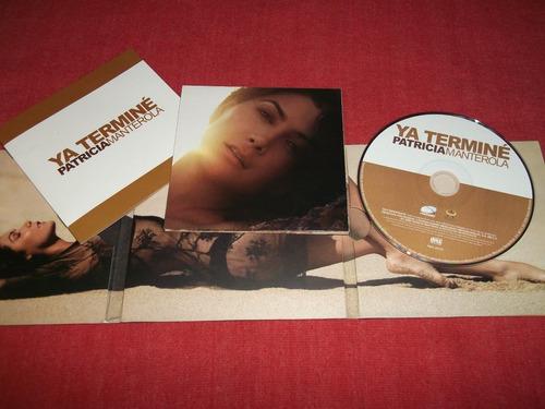 patricia manterola - ya terminé cd nac ed 2009 mdisk