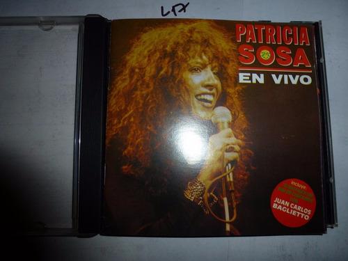 patricia sosa en vivo imp canada audio cd en caballito*