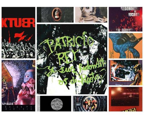 patricio rey y sus redonditos de ricota discografía completa