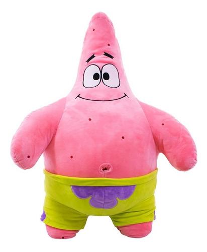 patrick estrela de pelúcia 75cm - bob esponja