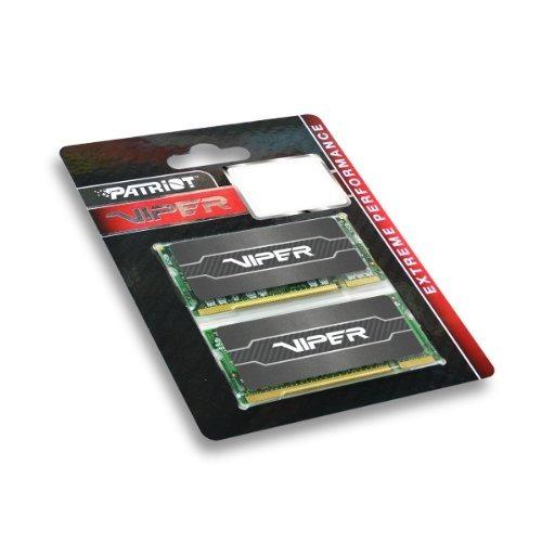 patriot 16gb (2x8gb) viper serie ddr3 1600 (pc3 12800) cl9 /