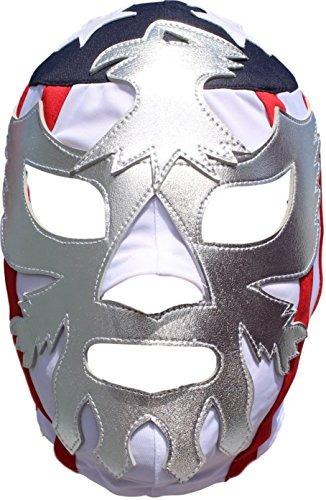 Patriot America Lycra Lucha Libre Luchador Máscara Adulto T ...