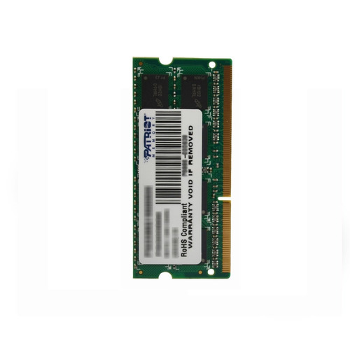 patriot signature 4 gb pc3-10600 (1333 mhz) ddr3 sodimm psd3