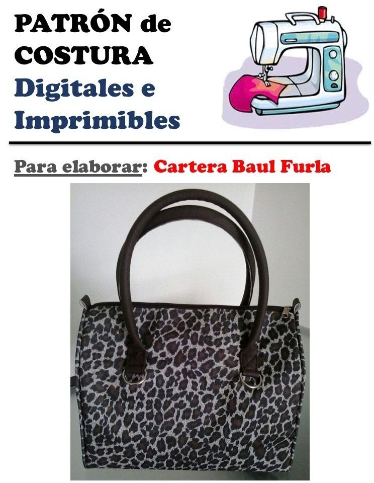 Patrón Cartera Baul Furla Ultima Moda - Bs. 0,01 en Mercado Libre