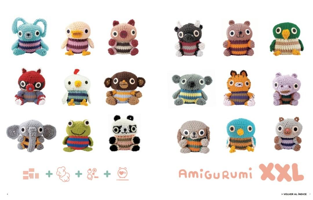 Patron Crochet Amigurumi Muñecos En Español - $ 50,00 en Mercado Libre