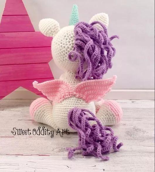 Amigurumi Pattern Premium: Unicorn Doll - Candy & Mint - Tarturumies | 584x529