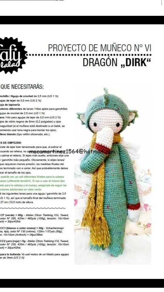 Patrón Crochet - Lalylala - Drink - $ 2.000 en Mercado Libre